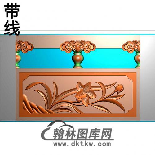 兰花石材栏板精雕图浮雕图雕刻图HL-73有线