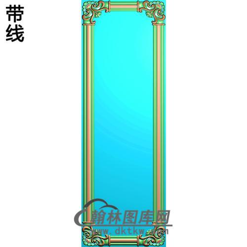 护墙板精雕图(HQB-034)