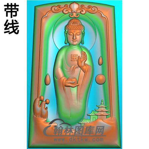 站姿佛像精雕图(ZFX-065)
