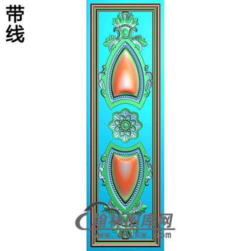 护墙板精雕图(HQB-170)