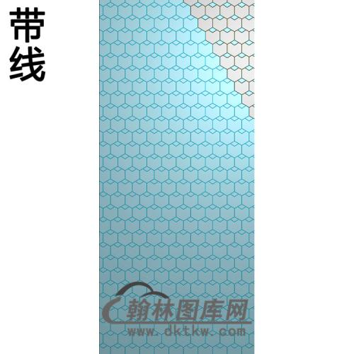 铝雕纹理精雕图(TM-658)