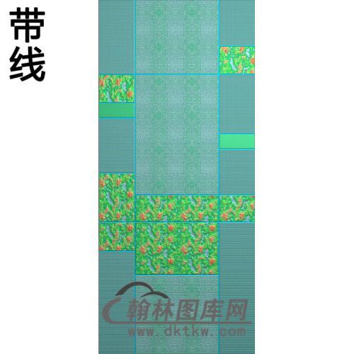 铝雕纹理精雕图(TM-665)