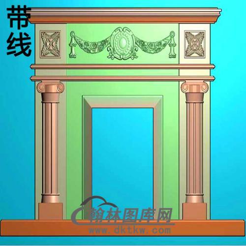 欧式壁炉精雕图(BL-002)