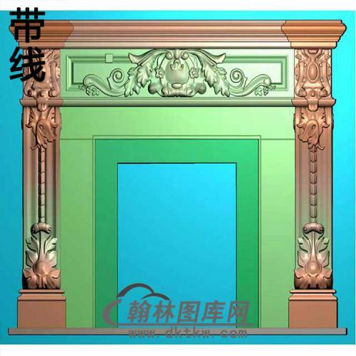 欧式壁炉精雕图(BL-003)