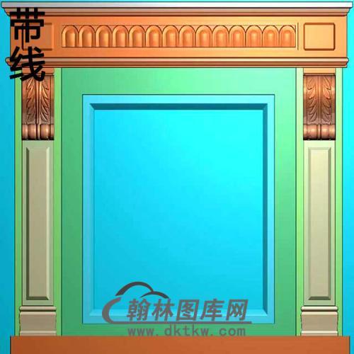 欧式壁炉精雕图(BL-007)