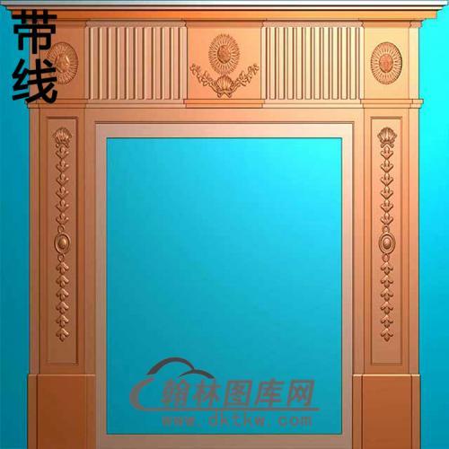 欧式壁炉精雕图(BL-009)