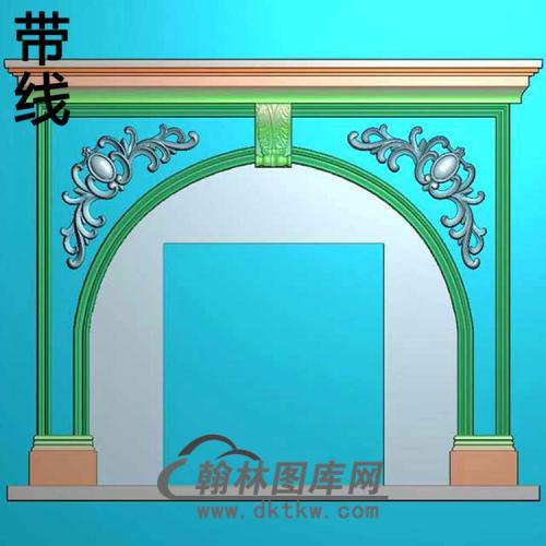 欧式壁炉精雕图(BL-010)