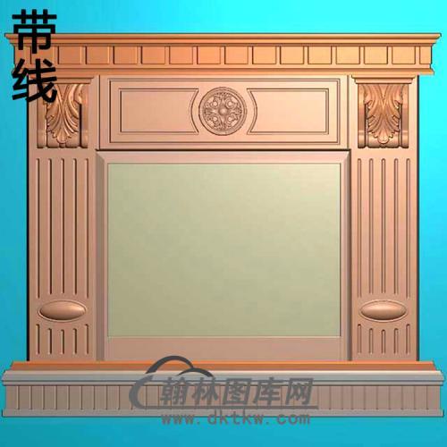 欧式壁炉精雕图(BL-011)