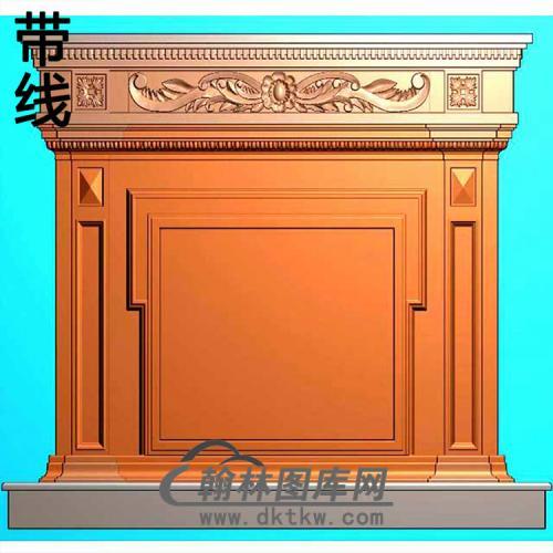 欧式壁炉精雕图(BL-012)