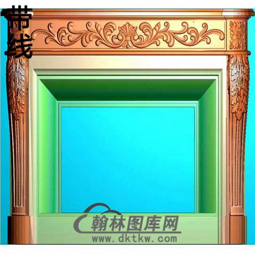 欧式壁炉精雕图(BL-013)