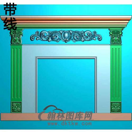 欧式壁炉精雕图(BL-015)