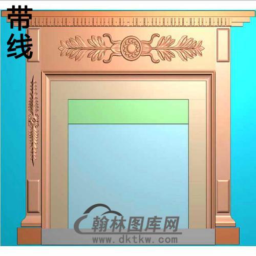 欧式壁炉精雕图(BL-017)