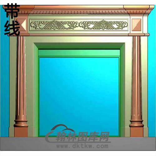 欧式壁炉精雕图(BL-020)