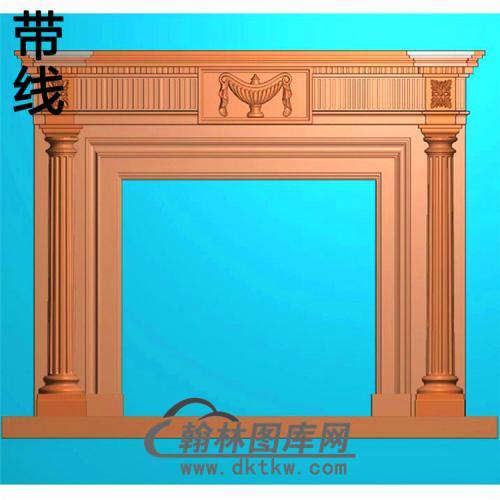 欧式壁炉精雕图(BL-021)