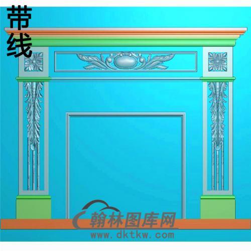 欧式壁炉精雕图(BL-022)