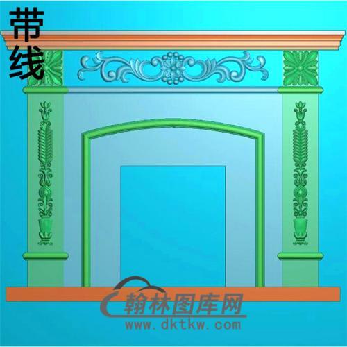 欧式壁炉精雕图(BL-023)