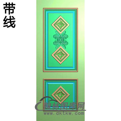 门芯板精雕图(MXB-153)