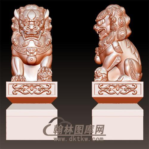 精品母狮子立体圆雕图(YSX-064)