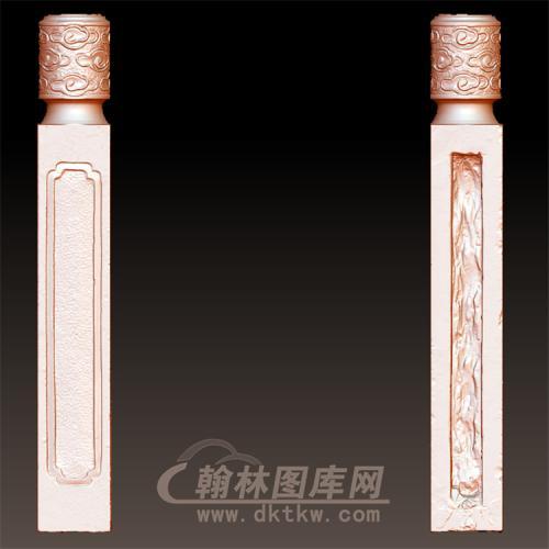 石雕祥云柱头(YZT-001)