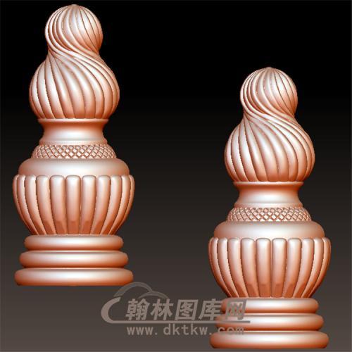 柱头立体圆雕图(YZT-014)