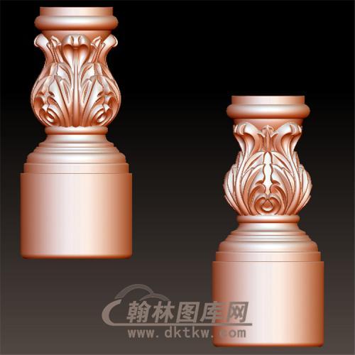 柱头立体圆雕图(YZT-015)