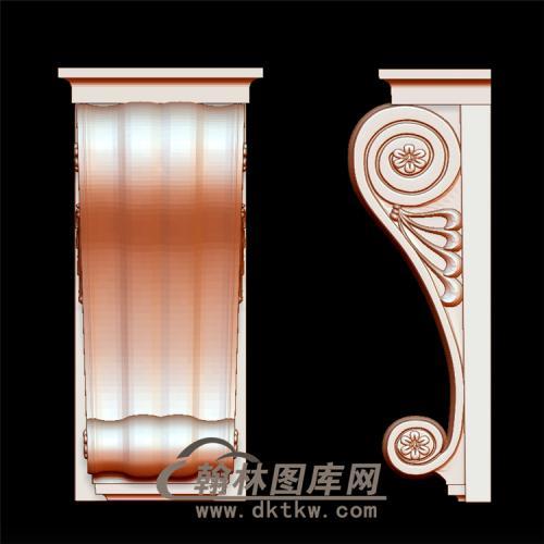 柱头立体圆雕图(YZT-020)