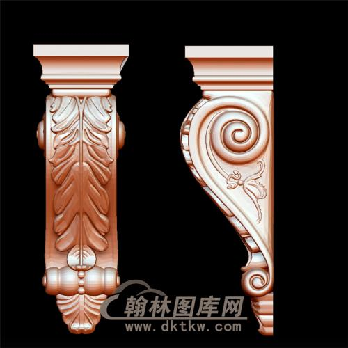 柱头立体圆雕图(YZT-022)