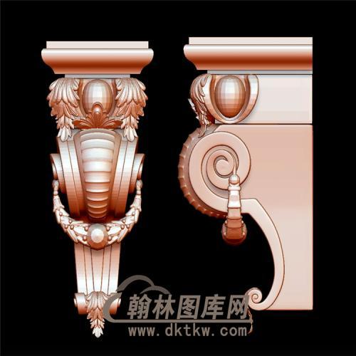柱头立体圆雕图(YZT-023)