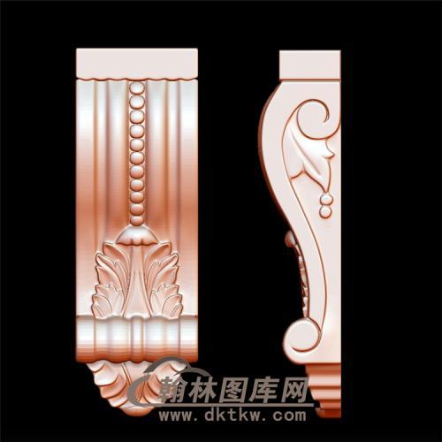 柱头立体圆雕图(YZT-025)