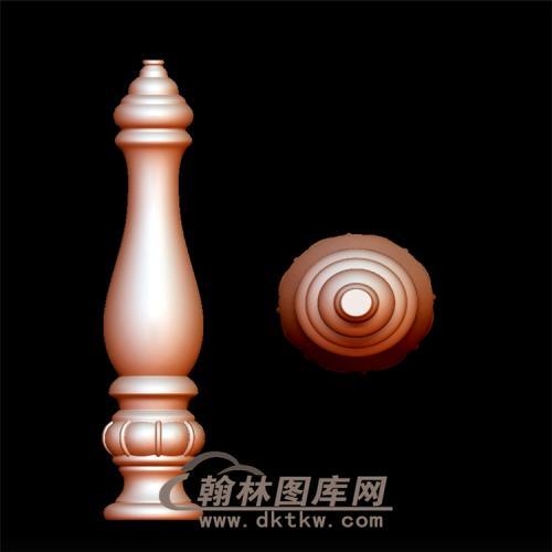 栏杆立体圆雕图(YLG-007)