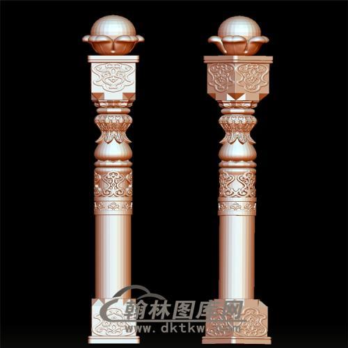 栏杆立体圆雕图(YLG-015)