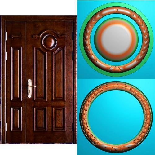 木门套门精雕图(MTT-207)