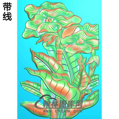 芭蕉精雕图(BJ-013-)