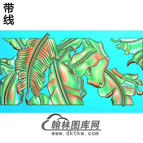 芭蕉精雕图(BJ-017-)