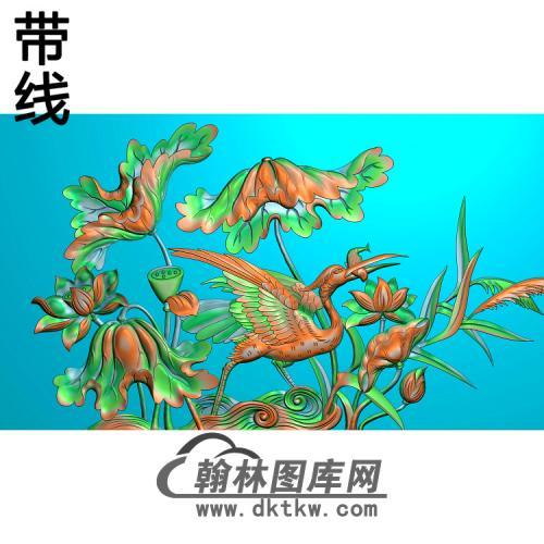 松鹤精雕图(SH-277)
