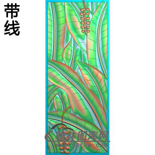 BJ-239-芭蕉精雕图