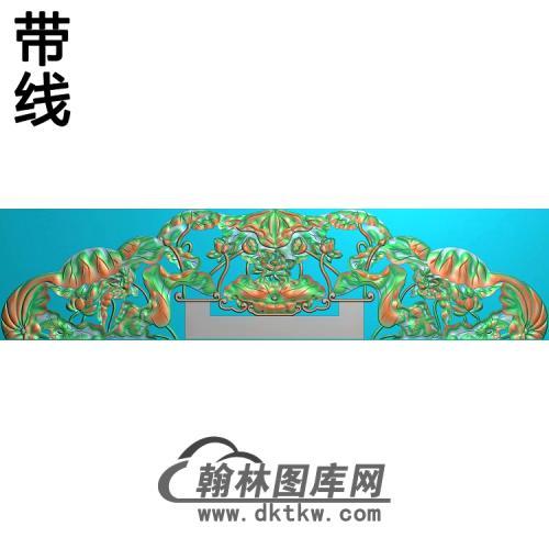 荷花精雕图(HHY-360)