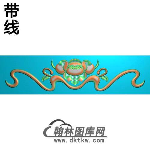 荷花精雕图(HHY-433)
