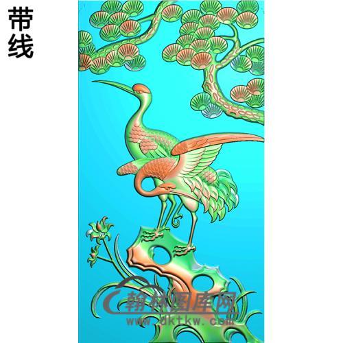松鹤精雕图(SH-139)