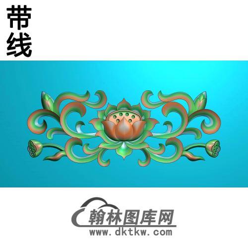 荷花精雕图(HHY-508)