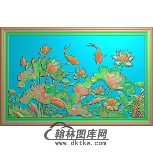 荷花精雕图(HHY-532)