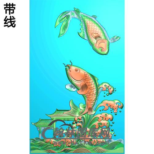 荷花精雕图(HHY-579)