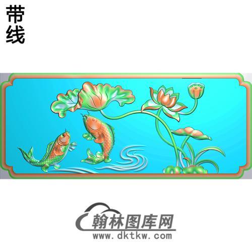 荷花精雕图(HHY-628)