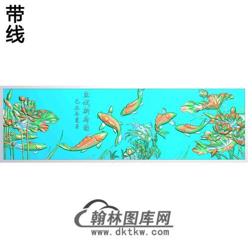 荷花精雕图(HHY-629)
