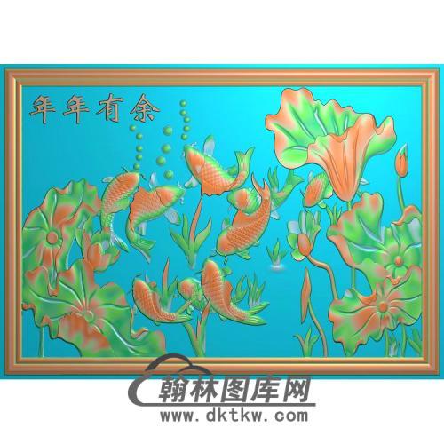 荷花精雕图(HHY-788)