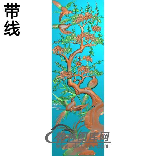 HD-021-花草动物系列精雕图(MH-022)