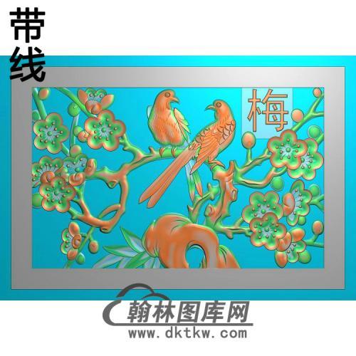 HD-193-花草动物系列精雕图(MH-030)