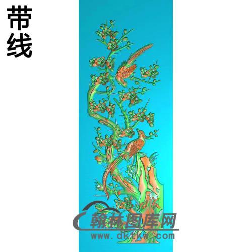 HD-214-花草动物系列精雕图(MH-031)