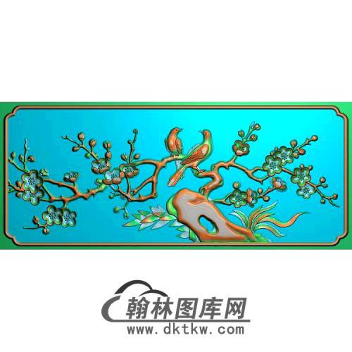 MH-215-梅花喜雀无线精雕图(MH-147)
