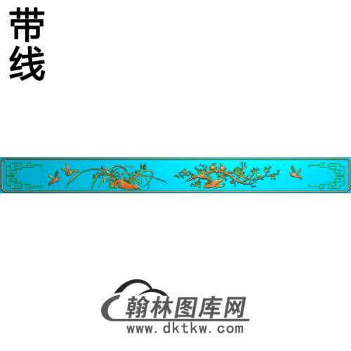 MH-8001-梅兰精雕图(MH-241)